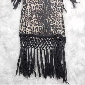 Spell & The Gypsy Collective Dresses - Spell & the Gypsy Lolita Fringe Leopard Dress